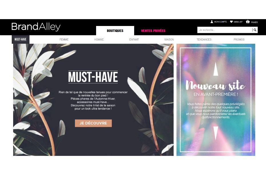 brandalley signe un partenariat avec e leclerc. Black Bedroom Furniture Sets. Home Design Ideas