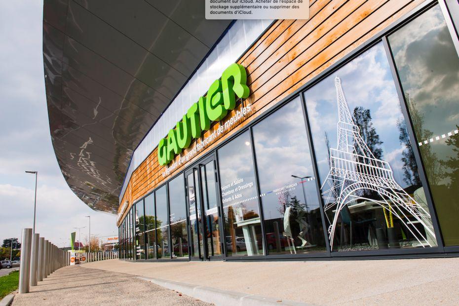 e541072e3aba Gautier compte neuf magasins en Ile-de-France, comme ici, à Orgeval