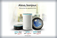 Amazon lance en France son assistant vocal Alexa et ses hauts-parleurs Echo
