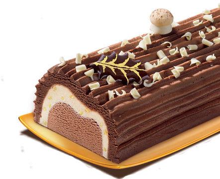 Bûche traditionnelle 3 chocolats de Carte d'Or de Carte D'Or