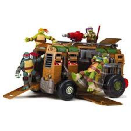 Tortues ninja le camion de combat de giochi - Vehicule tortue ninja ...