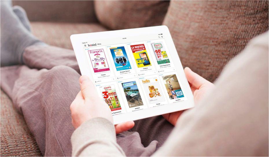 bonial d montre la puissance du catalogue digital. Black Bedroom Furniture Sets. Home Design Ideas