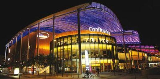 Le centre commercial de Cognin