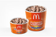 Mini McFlurry Ovomaltine McDonald's
