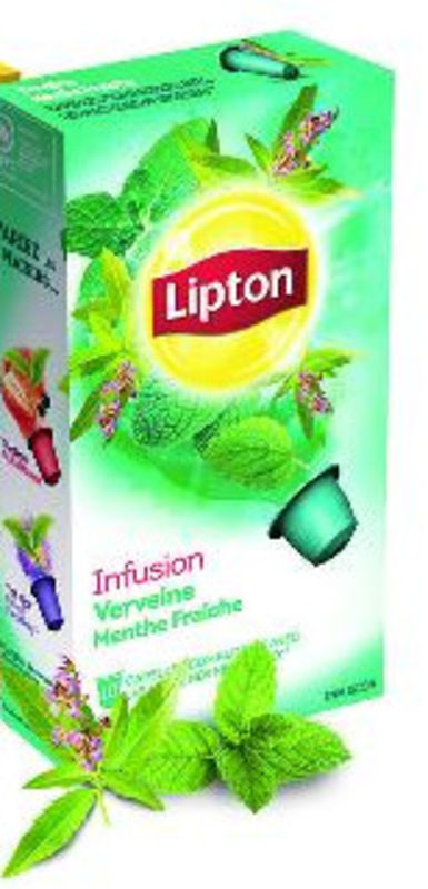 th infusion verveine menthe fra che de lipton. Black Bedroom Furniture Sets. Home Design Ideas