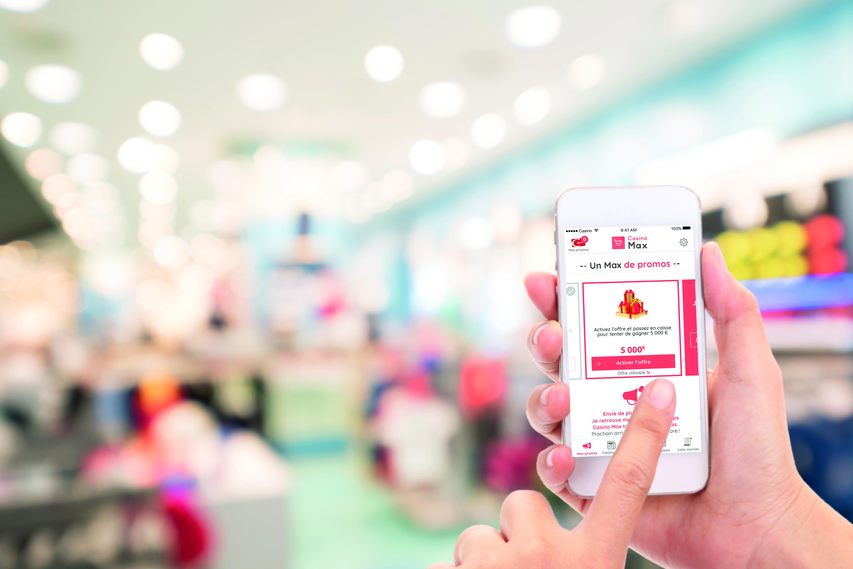 Casino lance une appli mobile pour éviter l'attente en caisse
