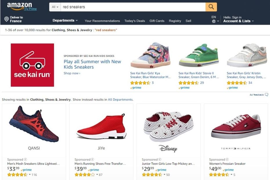 Amazon se lance dans le retargeting