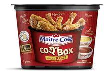 Coq en Box Poulet Rôti aux Herbes de Maître Coq