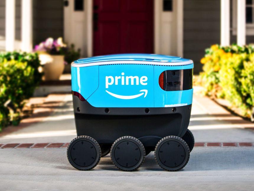 Amazon dévoile Scout, son drone roulant de livraison