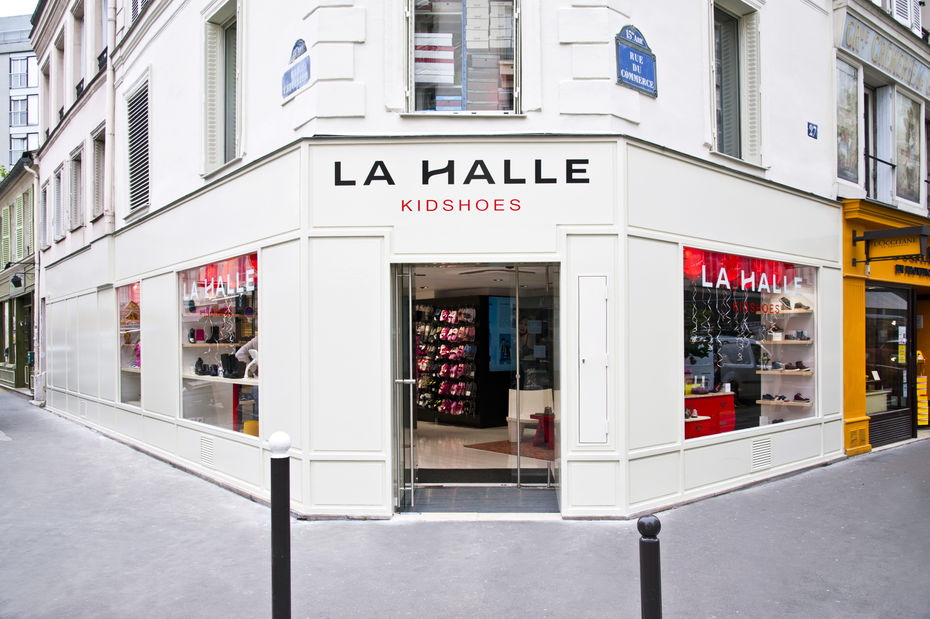 D couvrez en images le nouveau magasin la textile - Magasin la redoute sur paris ...