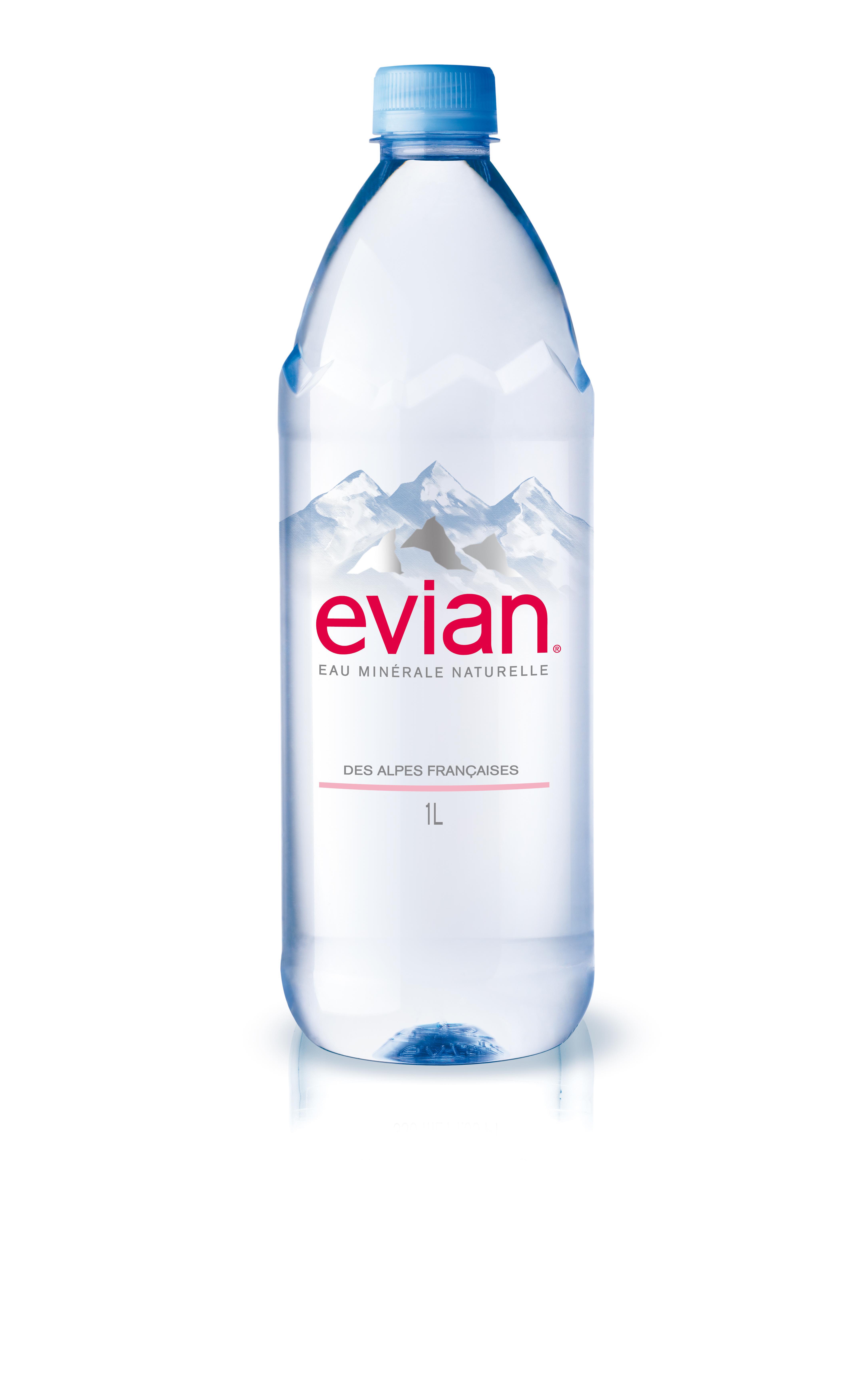 Evian en beaut chez monoprix emballage - Collection bouteille evian ...