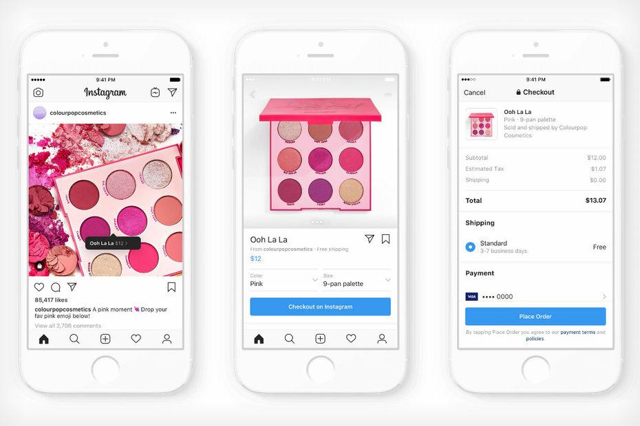 buy online d7e89 ccf0e  Exclu  Instagram US teste le paiement natif pour devenir une marketplace.