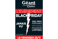 Le groupe Casino exploite à son tour le filon du Black Friday.