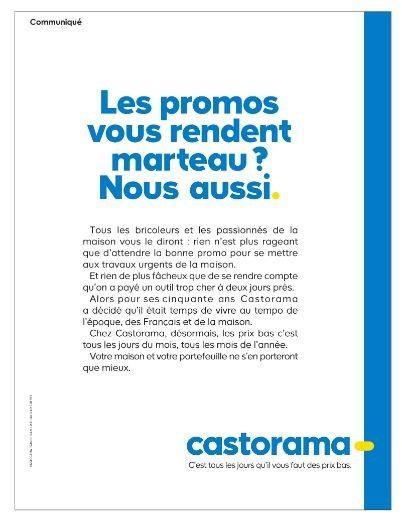 Castorama Le Grand Chantier De L Every Day Bricolage Jardinage
