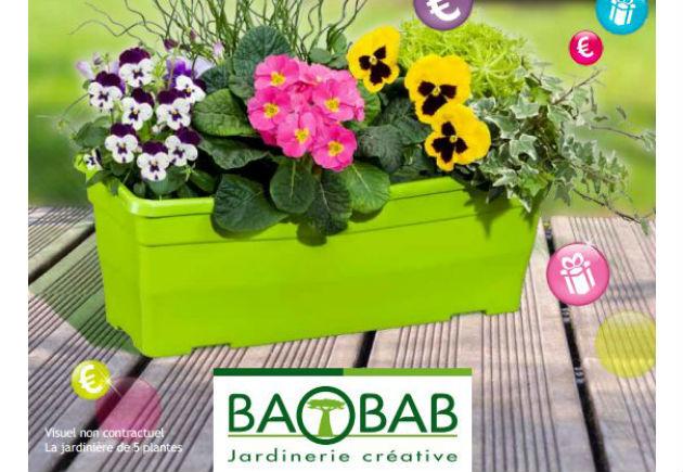 les jardineries baobab baissent leurs prix. Black Bedroom Furniture Sets. Home Design Ideas