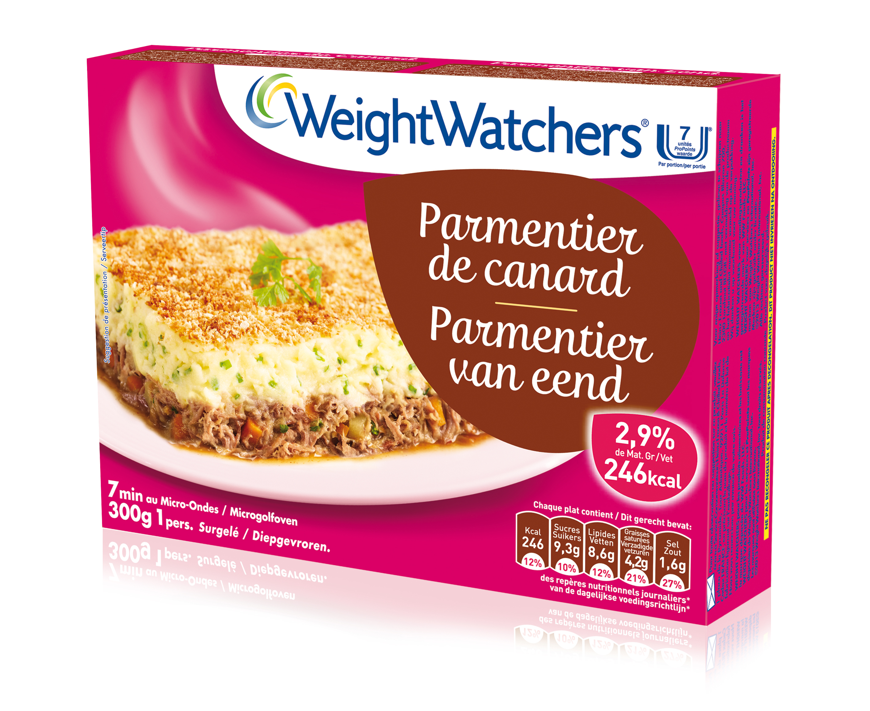 Le Parmentier De Canard Weight Watchers Surgeles De Heinz