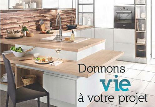 conforama investit dans la cuisine avec un march maison. Black Bedroom Furniture Sets. Home Design Ideas