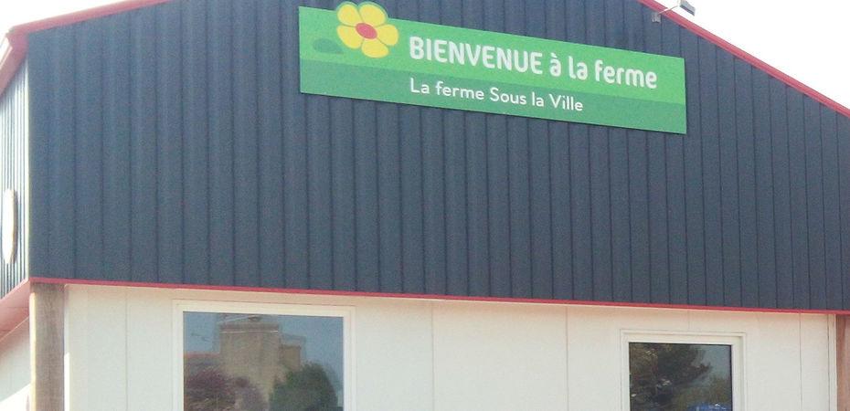 85799b8a45f Bienvenue à la Ferme ouvre son premier magasin - Produits Frais