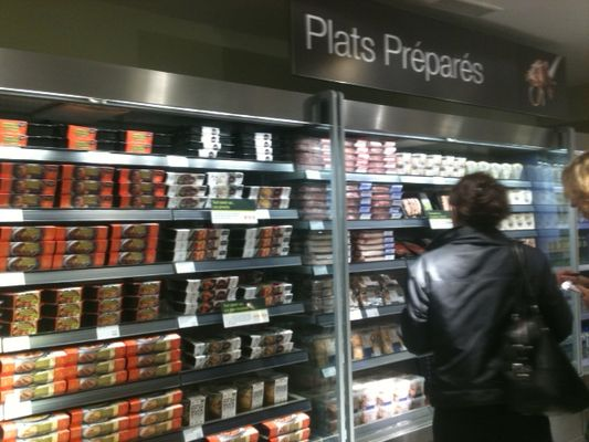M&S Paris : le petit rayon alimentaire