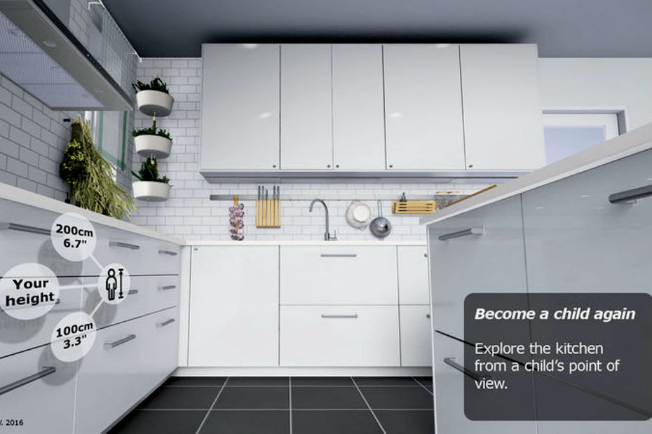 ikea lance sa kitchen vr experience une. Black Bedroom Furniture Sets. Home Design Ideas