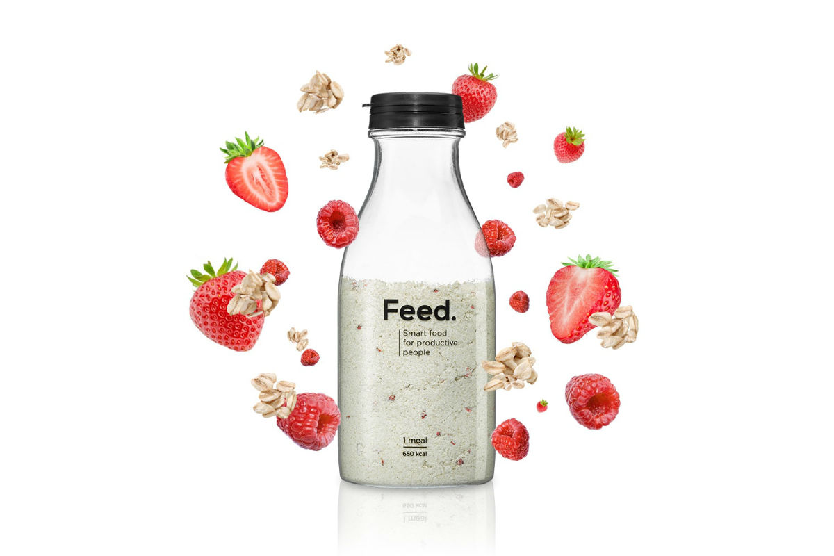 Feed: Feed, Le Repas Qui Tient Dans Une Bouteille