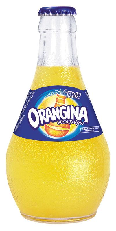 Image Boisson Alcoolisee : Orangina est une boisson gazeuse non alcoolis?e ? base d'oranges et