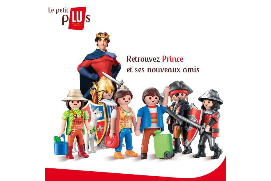 Prince Amp Playmobil Communiquent De Concert