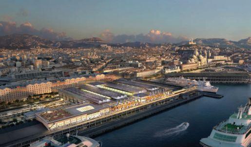 Hammerson hisse haut les voiles des terrasses - Terrasse du port marseille ouverture ...