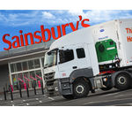 Camion propre Sainsbury's