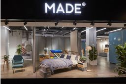 Le nouveau showroom de Made.com à Londres.