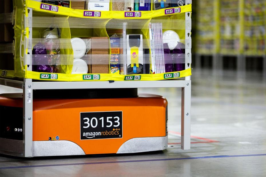 Amazon Inaugure Son Premier Entrepot