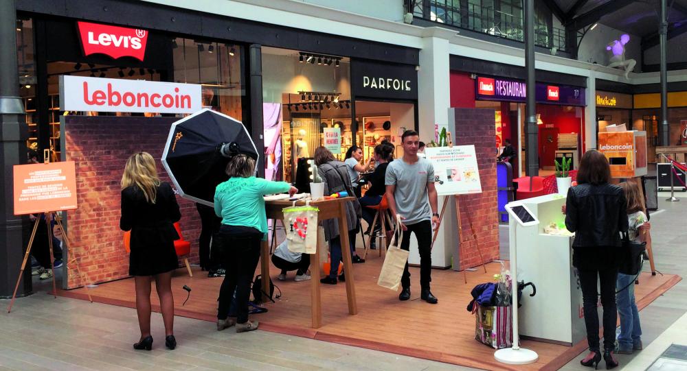 cdb681c087 Des Pop-Up stores Leboncoin en centres commerciaux :