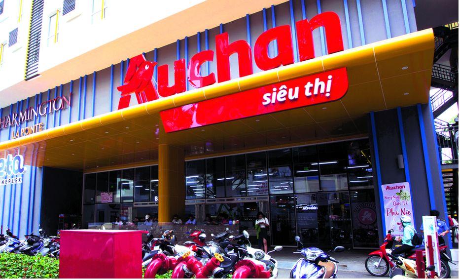 Сеть магазинов «Ашан» уходит из Вьетнама