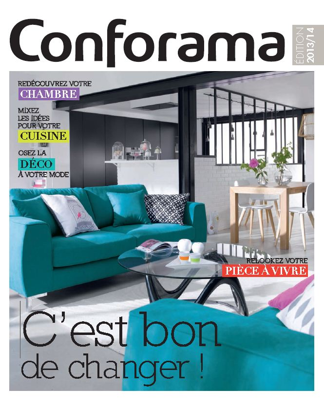 Conforama cède à son tour au catalogue... - Marché maison