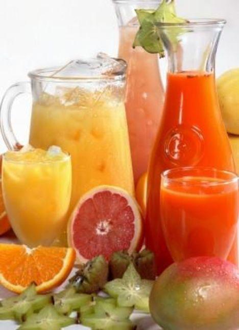Les Jus De Fruits Sur La Bonne Voie Boissons Et Liquides