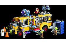 Le bus scolaire Lego