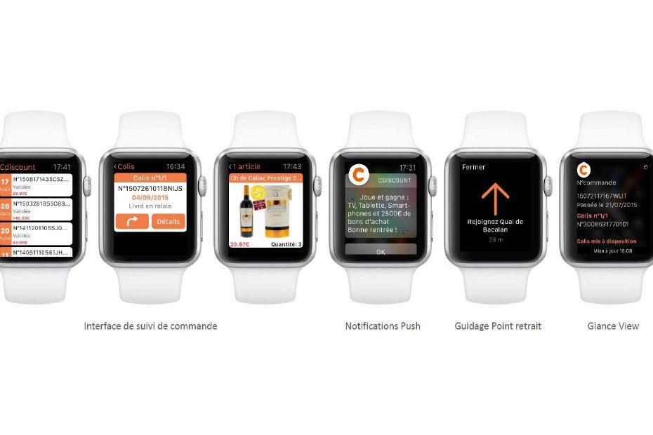 Cdiscount lance son appli apple watch march multim dia - Cdiscount espace client suivi commande ...