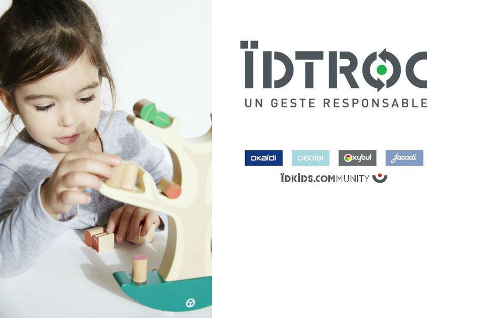 d72c4749f53f3 Jusqu'au 9 juin prochain à l'occasion du nouvel ÏDTroc, les parents et  enfants peuvent rapporter leurs vieux jouets dans les magasins ÏDKids et  Oxybul pour ...