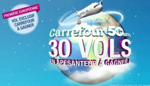 Carrefour Va Envoyer 30 Clients En Apesanteur