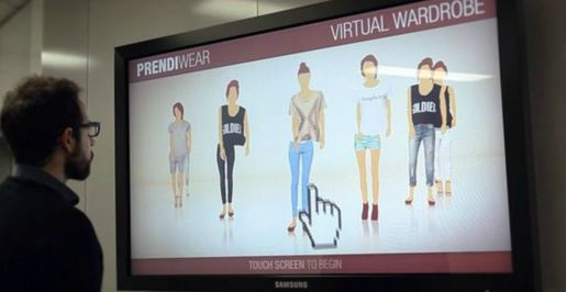 L'invention se nomme Virtual Wardrobe.