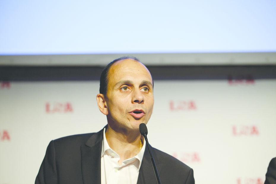 René Tchoukriel, directeur des achats alimentaires d'Auchan