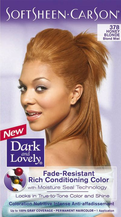 Coloration cheveux afro dark and lovely