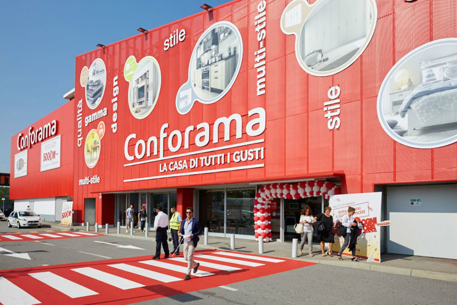 Conforama ouvre son premier magasin turin for Conforama udine