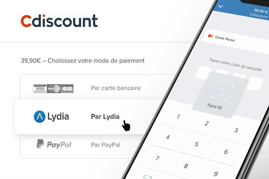 Carte Bancaire Prepayee Lydia.Cdiscount Accepte Les Paiements Operes