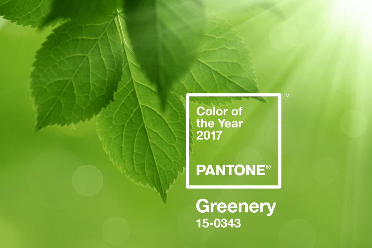 Couleur Pantone De L Année 2017 greenery », couleur de l'année 2017