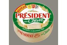 Le camembert au chèvre de Président