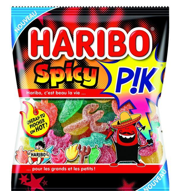 Haribo Cree Un Bonbon Piquant Et Epice Biscuiterie Confiserie Petit Dejeuner