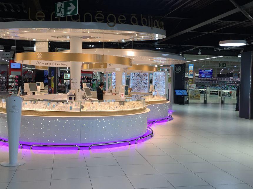L'espace marchand de l'hypermarché d'Hauconcourt, en Moselle, teste depuis le mois de mai le marketing sensoriel.