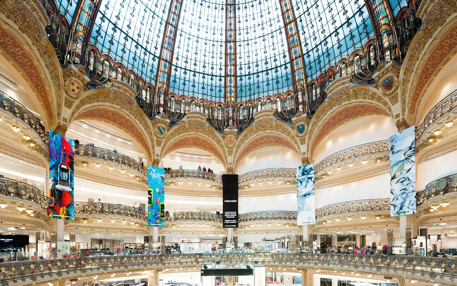 Grands magasins et centres commerciaux une - Magasin le printemps paris ...
