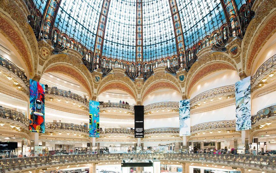 Les Galeries Lafayette Paris Haussmann OUI.sncf